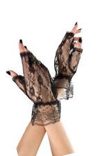 Guantes y manoplas de mujer de encaje de talla única