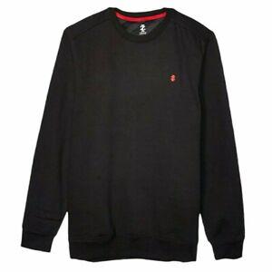 NEW IZOD Big & Tall 2XLT Mens Sweatshirt Sport Flex Long Sleeve Black Fleece