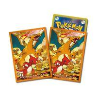 Pokemon center JAPAN - Charizard Premium Card Deck Shields (64 Sleeves)