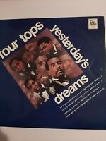 Yesterday's Dreams THE FOUR TOPS Vinyl Album LP. FAST and FREE DELIVERY