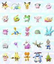 Ultra Shiny 6IV Level 5 2nd Second Gen Unevolved Pokemon Sword/Shield