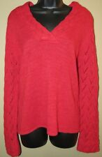 Women's Medium (10-12) COLDWATER CREEK Red Sweater