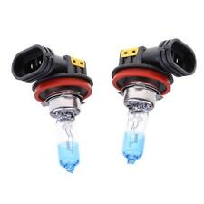 2pcs 12V 55W H8 4000K Halogen Lamp Headlight High Temperature Resistant
