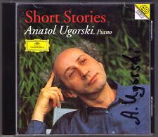 Anatol Ugorski signée Short Stories Chopin Debussy Scriabin Weber Liszt DG CD