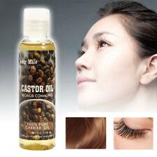 Organic 100% Pure Castor Oil Cold Pressed Moisturiser Hydrating Skin & Hair Care