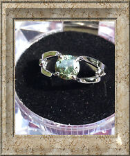 Moissanite Sterling Silver Fine Rings