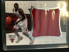 2004 Exquisite Collection Extra Jerseys 24/25 Luol Deng Rookie Bulls