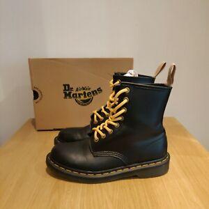 Dr Martens 1460 Vegan Faux Leather Ankle 8 Holes Boots Size UK 5 EU 38 US 7