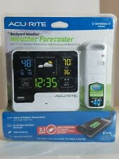 Acurite  Weather Forecaster Indoor/Outdoor Station 00621W2 New