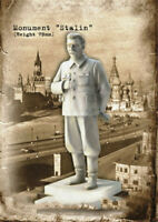 1/24 Resin Kits Soviet Stalin Model Figure GK Unpainted