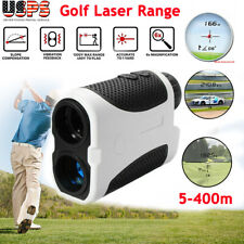 400M Digital Telescope Golf Laser Range Finder w Slope Distance Meter USPS SHIP