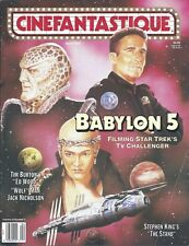 Cinefantastique Magazine April 1994 Vol25 Num2  Babylon 5 Ed Wood