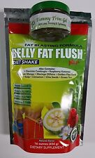 BELLY FAT FLUSH DIET WEIGHT LOSS SHAKE & BELLY FAT TRIM GEL- COMBO PACK