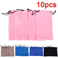 10X Microfiber Pouch Bag Soft Cleaning Case Bag Sunglasses Eyeglasses Glasses HU