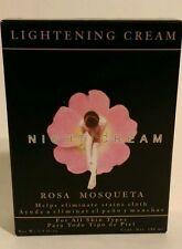 Rosehip Oil, Night Cream 2.54 fl oz/Crema Aclaradora de Noche/Rosa Mosqueta 75ml