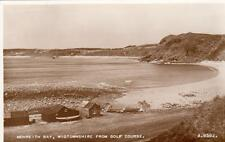 Monreith bay Nr Whithorn from Golf Course unused RP pc Valentines