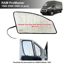 Side Window Front Seat Sunshades for 2014-2020 RAM ProMaster 4pcs