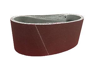 10 xSANDERSHARK Schleifband 65x410 mm P100 Alox Holz Metall Lack Made in Austria