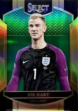 2016-17 Panini Select SSP GREEN JERSEY NUMBER Joe Hart #'d /5 England