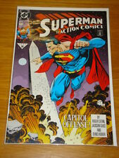 ACTION COMICS #679 DC NEAR MINT CONDITION SUPERMAN JULY 1992