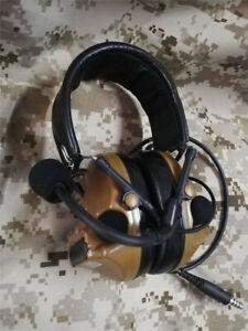 Comtac-III C3 Tactical Headphones Pickups Noise Reduction Communication Headset