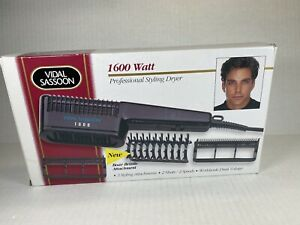 New VIDAL SASSOON 1600 VS540 1600W Salon Professional Styling Hair Dryer Blower
