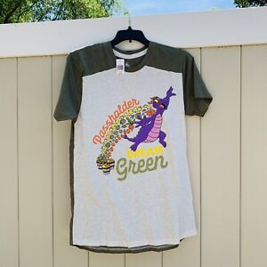 NWT Epcot 2020 Flower And & Garden Festival Dream Green Passholder T-Shirt M