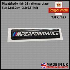 BMW Gel Badge Emblem Sticker Door Interior Dome Gloss Sport Performance 56mm!