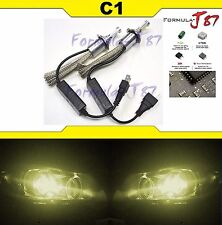 LED Kit C1 60W H7 3000K Yellow Two Bulbs Head Light High Beam Replacement Lamp
