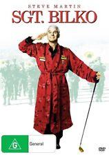N18 BRAND NEW SEALED Sargent Bilko - Sgt Bilko (DVD, 1996) Steve Martin