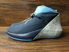 Brand New Nike Air Jordan Why Not Zero 1 Marquette Golden Eagles Blue Size 7