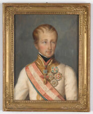 "Natale Schiavoni-Attrib. ""Kaiser Ferdinand I"", important portrait!! ca.1835"