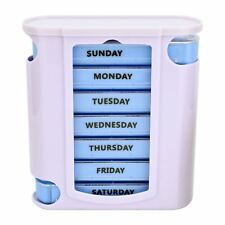 7 Day Weekly Medicine Pill Tablet Box Dispenser Container Organiser Storage