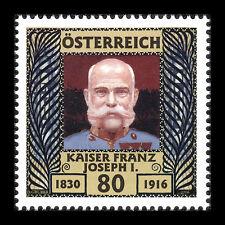 Austria 2016 - Death of Emperor Franz Joseph I of Austria Royalty - Sc 2628 MNH