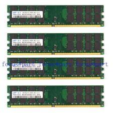 Samsung 16GB 4x 4GB PC2-6400 DDR2-800MHZ 240pin DIMM Memory RAM AMD Motherboard