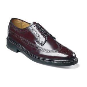 Florsheim Kenmoor Mens Shoes Imperial Wingtip Leather Burgundy 17109-05
