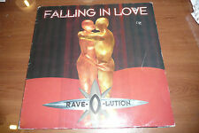 "RAVE O LUTION""Falling in love disco MIX 33 giri DANCE POOL- SEXY COVER"""