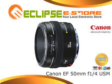 Canon EF 50mm f/1.4 USM 50 mm F1.4 Lens + 1 Year Au Wty Super Deal