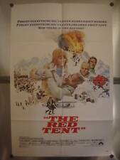 THE RED TENT 27x41 Original Movie Poster One Sheet 1971
