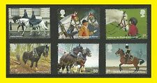 2014 Working Horses SG3626 to SG3631 a Full Set of 6 Stamps, Mint n/h
