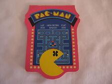 VINTAGE1980 PACMAN MS PACMAN  *** JIFFY - JOTTER PAD *** SUPER RARE !!!!!