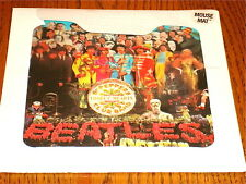 THE BEATLES SGT. PEPPERS MOUSE MAT NEW!