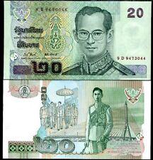 Thailande THAILAND Billet 20 BAHT 2009 P109 RAMA 9 NEUF  UNC