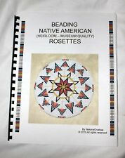 BEADWORK  BEADING NATIVE AMERICAN FLUTE - BEADBOARD  BEADING BOOK HOW TO