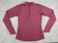 Women's Nike Running Dri Fit 1/2 Zip Pullover Athletic Jacket Size Small
