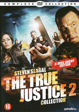 True Justice 2 Collection NEW PAL Series Cult 6-DVD Set Steven Seagal Sarah Lind