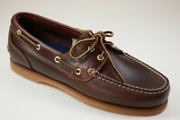 Timberland Amherst 2-Eye Boat Shoes Segelschuhe Bootschuhe Damen Schuhe 72333