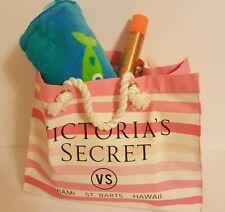 Brand New VS JUMBO Beach Bag with  4 oz PINK  Sun Kissed Sunscreen Spray