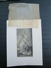 Photogravure F.Boucher Visite de Vénus à Vulcain