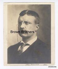 "Vintage 1901 Vice President Theodore ""Teddy"" Roosevelt Portrait DBW Photo"